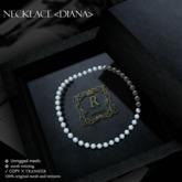 Romazin - Necklace <Diana> white