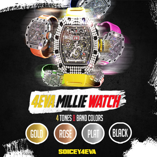 !SOICEY4EVA! 4EVA MILLE WATCH (FATPACK!)