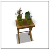 Herb Table - Belle Belle Furniture