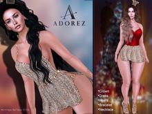 AdoreZ-Luxury  Gold Outfit