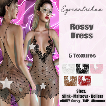 ::EGO - Rossy Dress - 5 Textures::