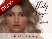 """Mily Shape """"Vista Emily Head"""" Demo"""