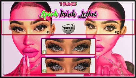 [THRONED] Mink Lashes // Spark (Unpack) v2