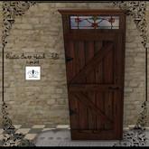 The Jewel Garden - Barn Door Hutch
