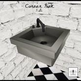 The Jewel Garden -Retro Corner Sink