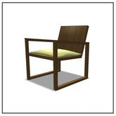 Patio Chair - Belle Belle Furniture