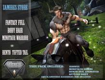 Fantasy Minotaur Warrior - Aesthetic