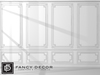 Fancy Decor: Faline Wall Panel (white)