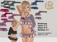 [RG] Babygirl Top&Skirt&Hud (Box)