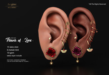 :Lg: - :Mesh Ears: -  Flower of Love