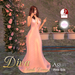 Diva Mesh Gown Box ST - Pink Silk Lace for TMP and Slink (Physique and Hourglass) Mesh Avatars