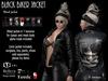 [lf design] Black Biker Jacket