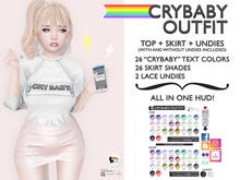 Blah. [CryBaby Outfit] ALL IN ONE HUD! »PROMO«