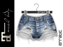erratic / skylar - denim shorts / 10.lightblue (maitreya)