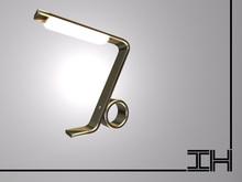 """Desk lamp """"Seven - gold"""""""