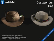 [psiNaN] Dustworlder Hat