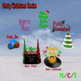 Feliz Navidad Tip Jar Boxed