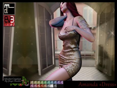 *!* Amanda Dress - for EVE & Maitreya