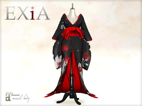 * EXiA * Sarara Kimono Black