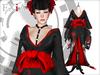 Exia sarara kimono black