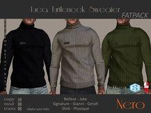 Nero - Luca Turtleneck Sweater (Fatpack)