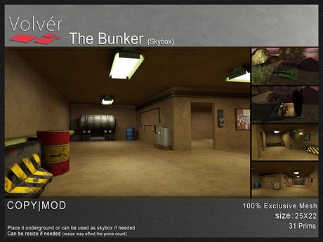 Volver - The Bunker (Skybox)
