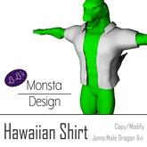 Hawaiian Shirt for JOMO Dragon male