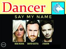 David Guetta feat. Bebe Rexha + J Balvin - Say my Name  BOXED