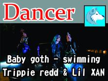 Targaryen Shop -baby goth - swimming  trippie redd & lilXan Box