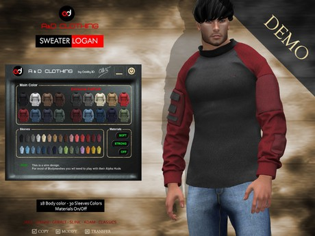 A&D Clothing - Sweater -Logan-  DEMOs