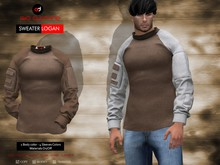 A&D Clothing - Sweater -Logan- Brown