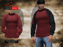 A&D Clothing - Sweater -Logan- Wine
