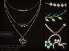 KUNGLERS - Katja necklace - Emerald