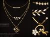 Kunglers   katja necklaces ad crystal