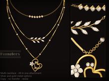 KUNGLERS - Katja necklace - Crystal