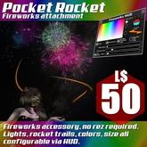 :Frio's: Pocket Rocket Fireworks Attachment