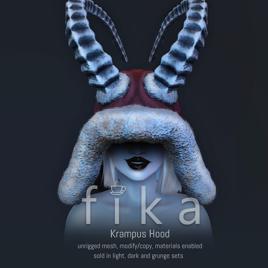 - Fika - Krampus Hood (Fatpack)
