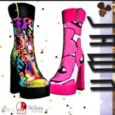 J] RESPECT BOOT (PINK)