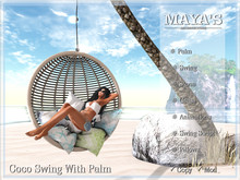 Maya's - Coco Swing with Palm  - Animations