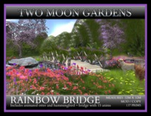 RAINBOW BRIDGE* Landscape Garden.