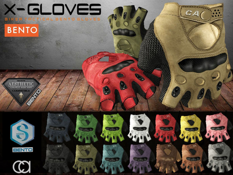 CA BENTO X-GLOVES AESTHETIC SIGNATURE GIANNI TACTICAL FAT PACK