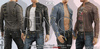 DEMO WILLIAM FATPACK JACKET WITH TOP Male, MESH - SIGNATURE GIANNI - GERALT, SLINK, BELLEZA JAKE - FashionNatic
