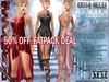 FATPACK buy all DARK colors @ 50% off Bella Moda LaDea Goddess Outfits Maitreya/Physique/Hourglass/Isis/Venus/Freya+Std
