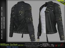 William Black male Jacket with Shirt - Signature Gianni & Geralt, Belleza Jake, Slink,- FashionNatic