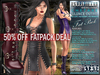 FATPACK - buy all colors @ 50% off Bella Moda Chetare Outfits Maitreya/Physique/Hourglass/Isis/Venus/Freya+Std