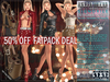 FATPACK - buy all colors @ 50% off - Bella Moda: Signorile Outfits: Maitreya/Physique/Hourglass/Isis/Venus/Freya+Std