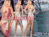 FATPACK - buy all colors @ 50% off - Bella Moda: Scintillio Dress & Shoes Maitreya/Classic/Physique/Hourglass/Isis/Venus