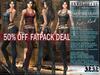 "FATPACK - buy all colors @ 50% off - Bella Moda: ""Avventura"" Adventure Outfits for Maitreya/TMP/Slink/Belleza+Standard"