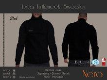 Nero - Luca Turtleneck Sweater  (Black)