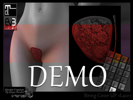 *!* String Cover Up Lace DEMO- EVE & Maitreya